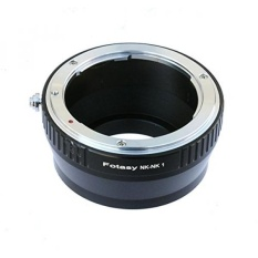 Fotasy Nikon Lensa untuk Nikon 1 Adaptor Kamera Mirrorless, cocok Nikon V1 V2 V3 S1 S2 J1 J2 J3 J4 J5 AW1-Intl