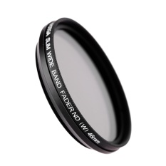 Toko Fotga 46Mm Slim Fader Variable Nd Filter Adjustable Neutral Density Nd2 Untuk Nd400 Intl Terlengkap Di Tiongkok