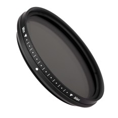 FOTGA 52mm Slim Fader Variable ND Filter Adjustable Neutral Density ND2 untuk ND400-Intl