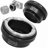 Harga Fotga Adapter Lensa Nikon To Sony Nex E Mount With Aperture Ring Satu Set