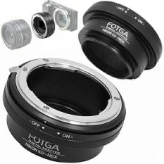 Toko Fotga Adapter Lensa Nikon To Sony Nex E Mount With Aperture Ring Online