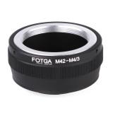 Fotga Cincin Untuk Adaptor M42 Untuk Lensa Micro 4 3 Gunung Kamera Olympus Panasonic Dslr Kamera Terbaru