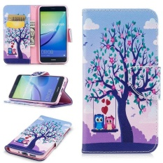 FQY-TEC [Pu Leather]and[TPU]Wallet,Card slot,Support Case for Huawei P10 Lite(5.2