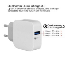 Beli Pengiriman Gratis Quick Charge Qc Usb3 Charger Putih Adapter Home Travel Untuk Cell Mobile Phone Intl Aukey Online