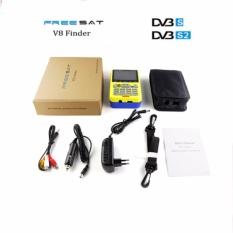 Beli Barang Freesat V8 Finder Dvb S2 Hd Digital Satellite Finder Meter Mpeg 2 Mpeg 4 Compliant 3 5 Inch Lcd Display Qpsk 8Psk Intl Online