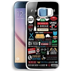 Friends Tv Cover Collage For Samsung Galaxy S6 White Case New DIY - intl
