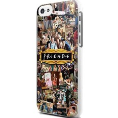 Friends Tv Show Collage Photo For Iphone And Samsung Galaxy Case (Iphone 5C White) New DIY - intl