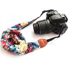 [. Amerika Serikat] Kamera Leher Bahu Tali Sabuk, alled Antik Cetak Lembut Warna-warni Tali Kamera untuk Wanita/Pria untuk Semua DSLR/Nikon/Canon/Sony /OLYMPUS/Samsung/Pentax Dll/Olympus (Syal Bergaya) b0747N41GR-Internasional