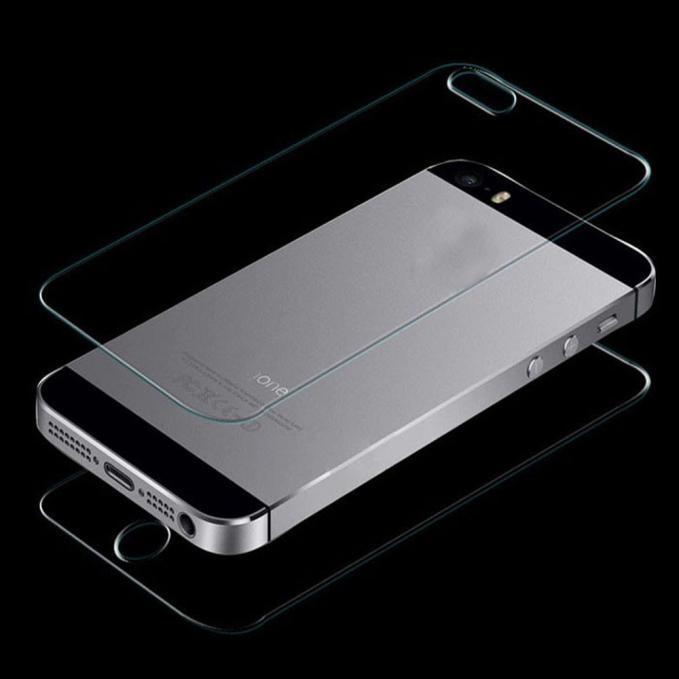 Spek Front Back Tempered Glass Pelindung Layar Film Untuk Iphone Se 5 5G 5 S Intl Tiongkok