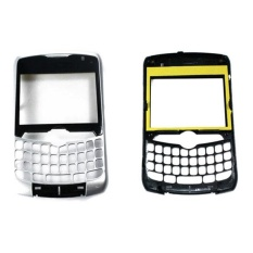 Depan Faceplate Housing Case untuk Blackberry Curve 8330 (Perak)-Intl
