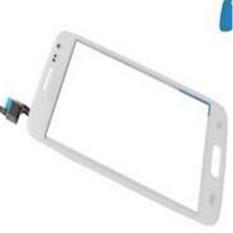 Kaca Depan Touch Screen Touch Lens Touch Digitizer Digitizer Suku Cadang Putih untuk Samsung GALAXY CORE Avant G386 G386F G368T -Intl