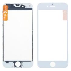 Depan Luar Lensa Kaca Bagian Perbaikan dengan OCA Perakitan Benzel Bingkai untuk Iphone 6 Plus Layar Sentuh LCD Panel-IntlIDR90000. Rp 90.000