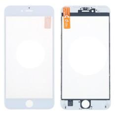 Rp 90.000. Depan Luar Lensa Kaca Bagian Perbaikan dengan OCA Perakitan Benzel Bingkai untuk Iphone 6 Plus Layar Sentuh LCD Panel-IntlIDR90000