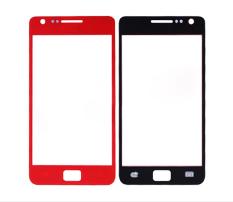 Lensa Kaca Depan untuk Samsung I9100 Galaxy S II/2-Merah-Intl