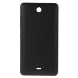 Toko Buram Permukaan Kembali Plastik Penutup Penggantian Perumahan Untuk Microsoft Lumia 430 Hitam Ipartsbuy