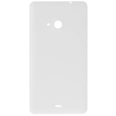 Yg Dilapisi Dgn Embun Beku Permukaan Belakang Plastik Penutup Penggantian For Perumahan Microsoft Lumia 535 Putih Diskon Tiongkok