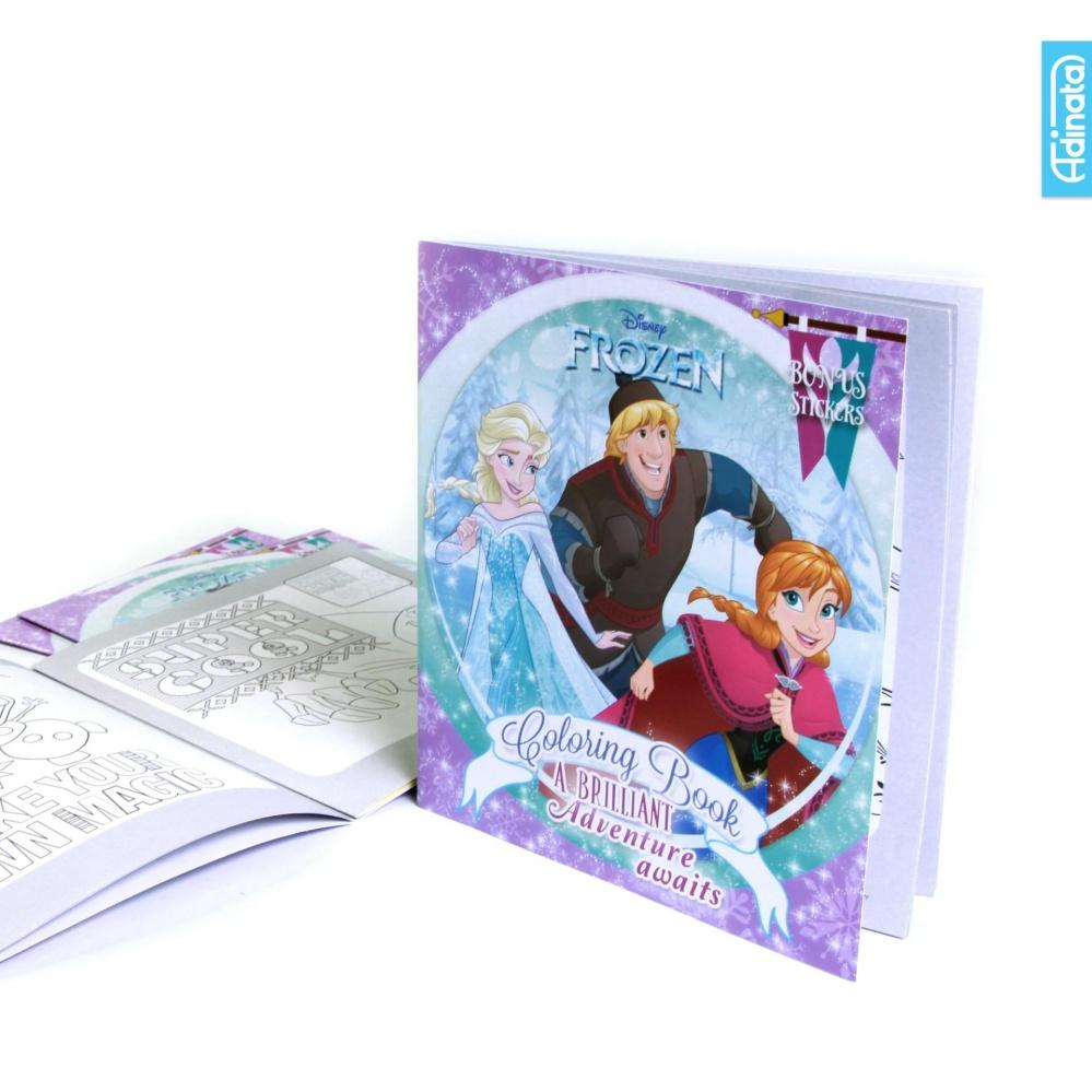 Frozen Coloring Book S Adinata / Buku Mewarnai