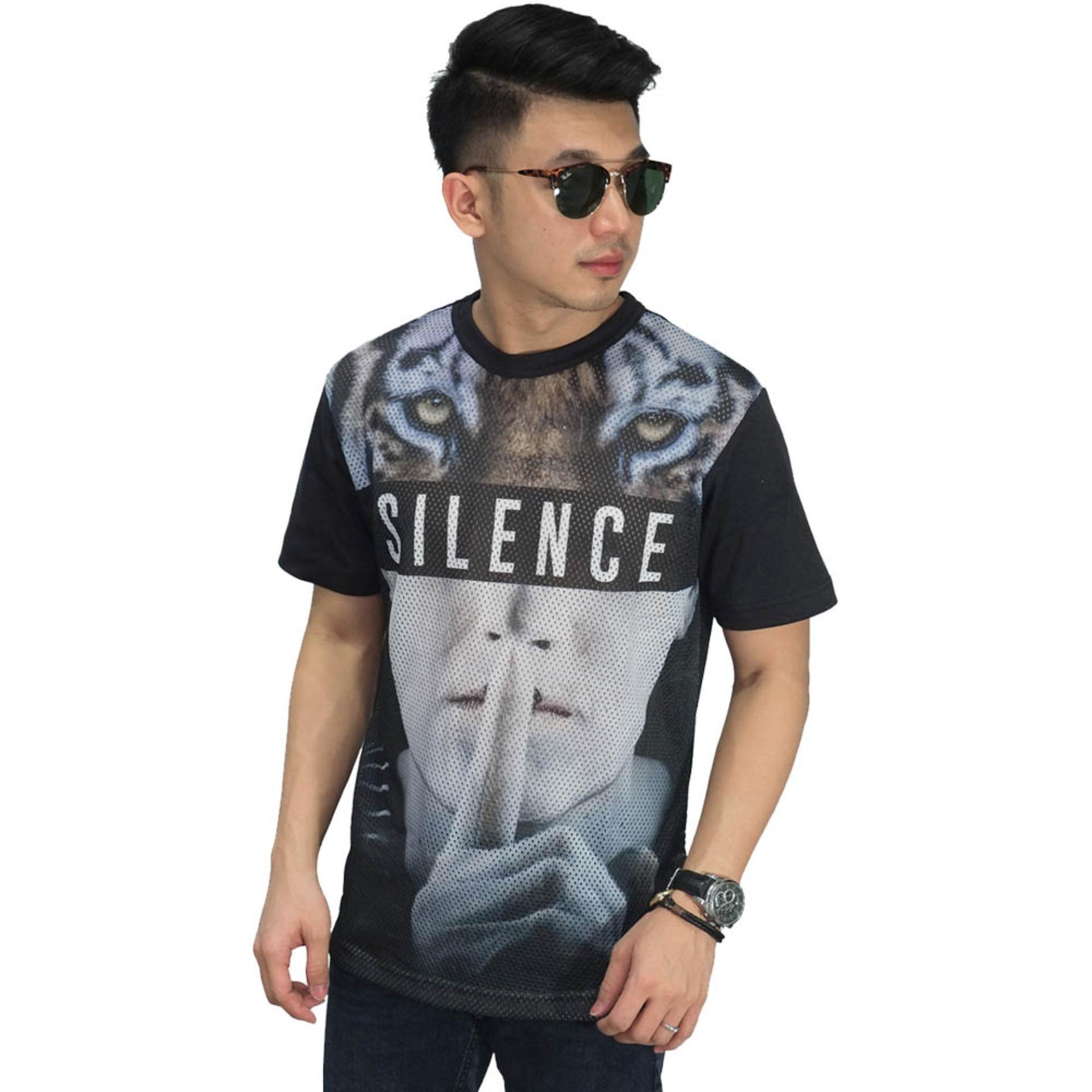 Hrcn Hmc 0077 Kaos Greenline Casual Pria Catton Pique Keren Hijauau Distro H 0150 Frozenshopcom Mesh T Shirt Silence Tiger Cowok