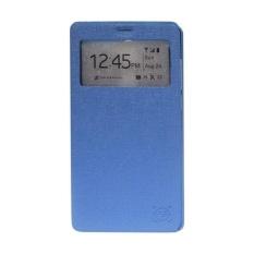 FS Benfer Flip Cover Oppo Joy R1001  - Biru