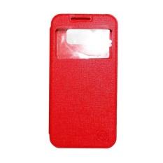 FS Benfer Flip Cover Oppo Joy R1001 - Merah