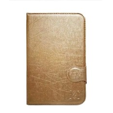 FS Marvel Flip Cover Samsung Tab Note N5100 8 Inch - Gold