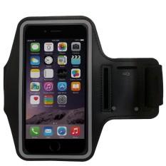 Fshione Telepon Kasus untuk Alcatel Dawn 5027 Case Sport Armband Arm Band Belt Cover Tas Gym 3-Stripes Kasus untuk Alcatel Dawn 5027-Intl