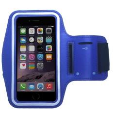 Fshione Telepon Kasus untuk Alcatel POP 4 Pluscase Sport Armband Arm Band Sabuk Cover Tas Gym 3-Stripes Kasus untuk Alcatel POP 4 Plus-Intl