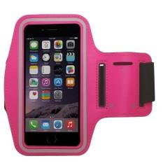 Fshione Telepon Kasus untuk Alcatel U5case Sport Armband Arm Band Sabuk Cover Tas Gym 3-Stripes Kasus untuk Alcatel U5- INTL