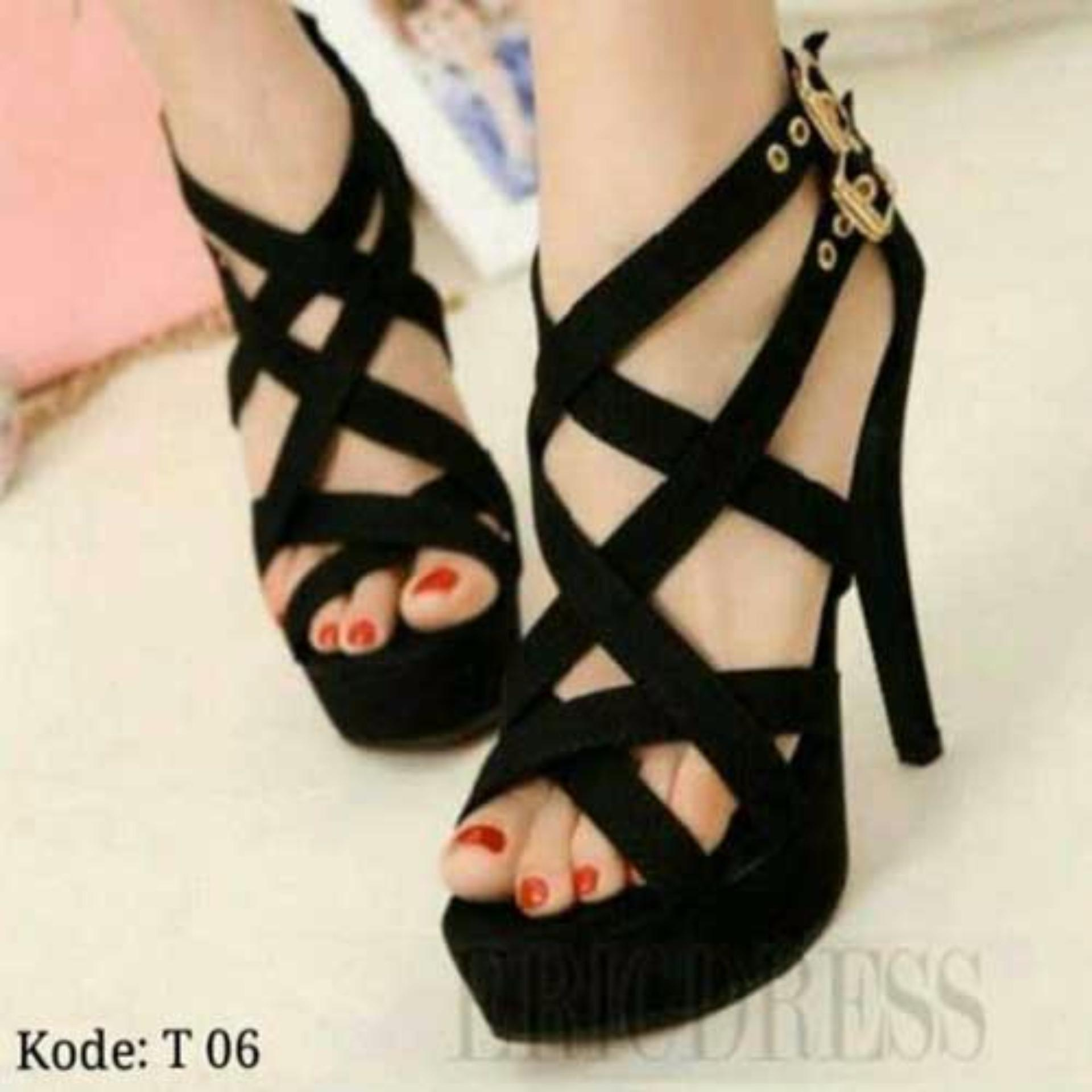 Jual Fuboshoes Sepatu Wanita High Heels T06 Online Indonesia