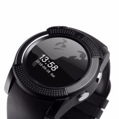 Fudun Sport Watch Full Screen Smart Watch V8 Untuk Android Pertandingan Smartphone Penopang Tf Sim Kartu Bluetooth Smartwatch Pk Gt08 U8 Intl Murah