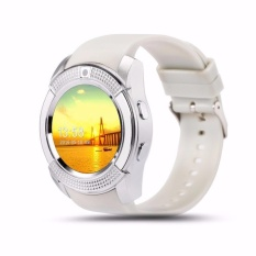 Jual Fudun Sport Watch Full Screen Smart Watch V8 For Android Match Smartphone Support Tf Sim Card Bluetooth Smartwatch Pk Gt08 U8 Intl Di Tiongkok
