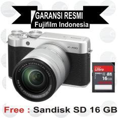 Review Fujifilm Xa10 Kit 16 50 Mm Silver Mirrorless Fujifilm