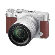 Fuji XA 3 XC + 16-50 Brown + Instax Mini 8