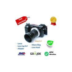 Fujian 35Mm F1.7 - Lensa Manual Uniq U Mirrorless Sony- Fuji X- Olympu