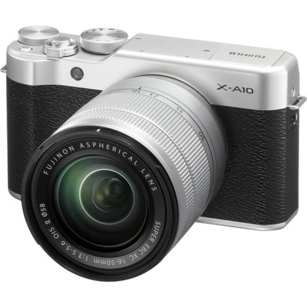 Fujifilm Camera - X-A10 Garansi Resmi Fujifilm - Silver