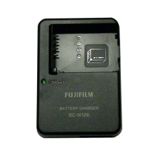 Fujifilm Charger BC-W126 (NP-W126 Battery) for X-Pro1, X-E1, X-M1, X-A1, FinePix HS30EXR, HS33EXR