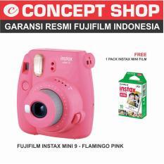 Toko Fujifilm Instax Mini 9 Flamingo Pink Terlengkap