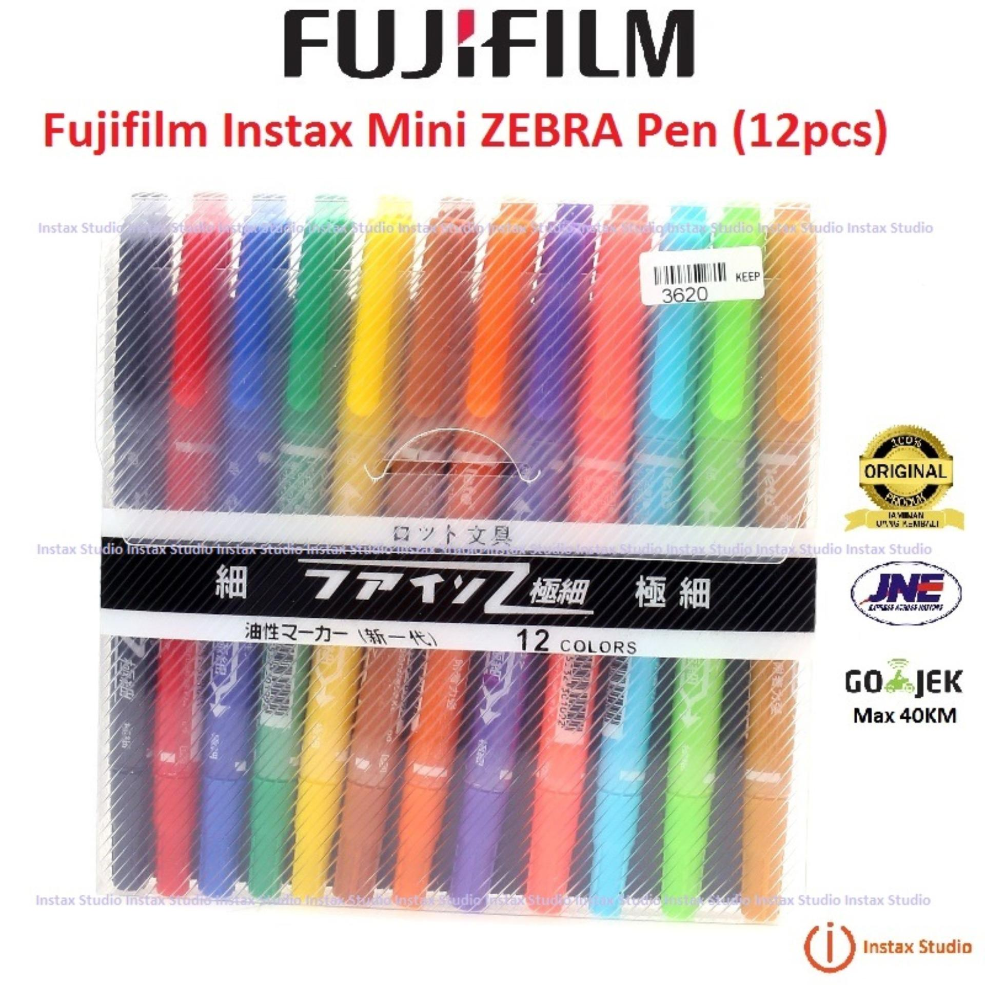 Jual Fujifilm Instax Mini Zebra Pen Kamera Polaroid Instax Pena Zebra Instax Branded