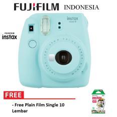Review Fujifilm Instax Polaroid Camera Mini 9 Paket Standard Ice Blue