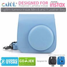 Godric Leather Bag Tas Case For Fujifilm Kamera Instax Mini 8 Dan 9 Biru Dki Jakarta Diskon 50