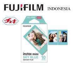 Promo Fujifilm Refill Instax Mini Blue Frame Film Biru Akhir Tahun
