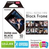 Beli Fujifilm Refill Instax Mini Film Black Frame 10 Lembar Online