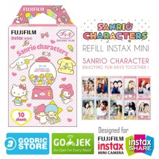 Beli Fujifilm Refill Instax Mini Film Sanrio Character New Version 10 Lembar Secara Angsuran