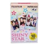 Spesifikasi Fujifilm Refill Instax Mini Film Shiny Star 10 Lembar
