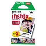 Beli Fujifilm Refill Instax Mini Film Twinpack Plain 20 Lembar Pake Kartu Kredit