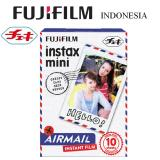 Beli Fujifilm Refill Kamera Instax Mini Film Camera Airmail 10 Lembar Pake Kartu Kredit