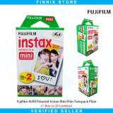 Review Pada Fujifilm Refill Polaroid Instax Mini Film Twinpack Plain 1 Box Isi 20 Lembar