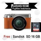 Jual Fujifilm X A10 Kit 16 50 Mm Brown Mirrorless Ori