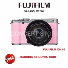 Jual Fujifilm X A10 Kit 16 50Mm F3 5 5 6 Ois Ii Mirrorless Pink Xa10 Online Indonesia