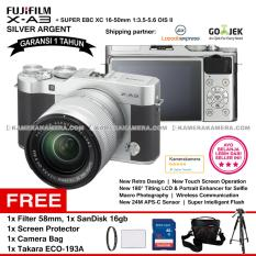 Toko Fujifilm X A3 Xc 16 50Mm Wifi 24Mp Touchscreen Lcd Mirrorless Camera Garansi 1Th Sandisk 16Gb Screen Guard Filter 58Mm Camera Bag Takara Eco 193A Online